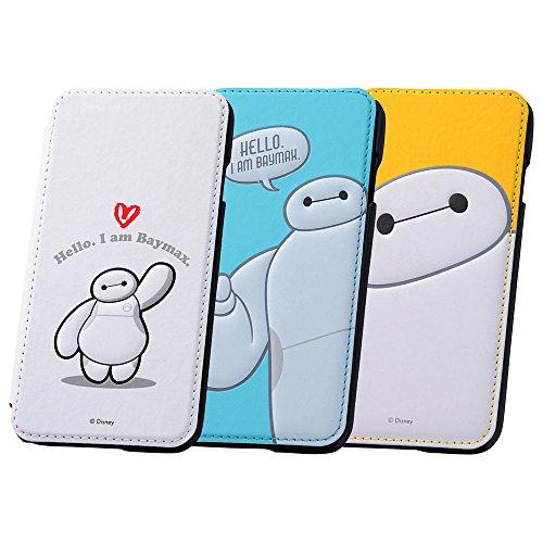 レイ・アウト iPhone 6 ベイマックス・ブックカバー・レザーケース ホワイト RT-DXP7A/W