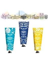 シア ハンドクリーム 【 INSTITUT KARITE PARIS 】Nourishing Hand Cream 30ml 3pcs 新シリーズ ?アヤメ ?クチナシ ?ジャスミン【 So Royal - FLEUR-DE-LIS...