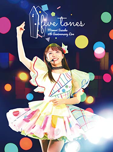 【Amazon.co.jp限定】MIMORI SUZUKO 5th Anniversary LIVE 「five tones」[Blu-ray](ライブロゴ使用トートバッグ付き)