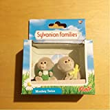 海外版 シルバニアファミリー シルバニアUK サルの双子の赤ちゃん ふたごちゃん 猿