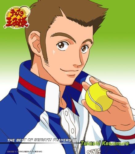 テニスの王子様 キャラクターマキシ3 - THE BEST OF SEIGAKU PLAYERS III Takashi Kawamura / 河村隆(川本成)