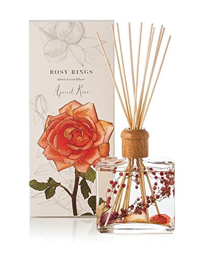 表面カプセル解明ロージーリングス ボタニカルリードディフューザー アプリコット&ローズ ROSY RINGS Signature Collection Botanical Reed Diffuser – Apricot Rose