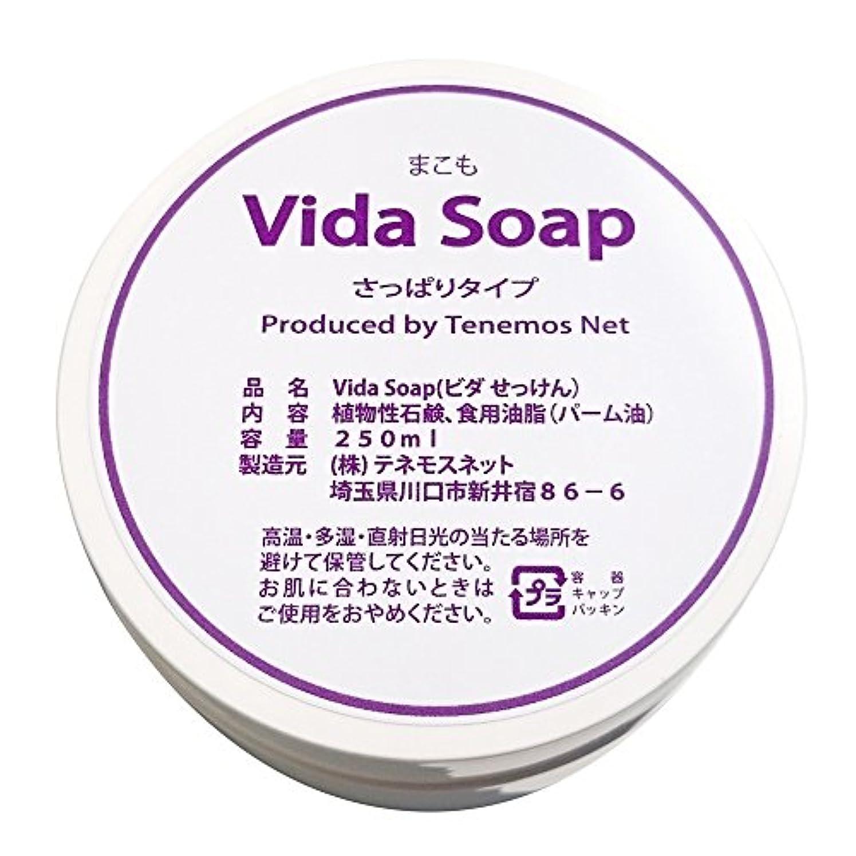 アカデミー酸度古いテネモス ビダせっけん Vida Soap さっぱりまこも 植物性 250ml