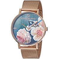 Christian Paul Women GBR4319 Year-Round Analog Quartz Rose Gold Watch