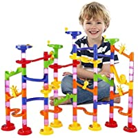 ビーズコースター WloveTravel 子ども おもちゃ 知育玩具 迷路 組み立て くるくる 子供想像力と創造力を育てる建設玩具