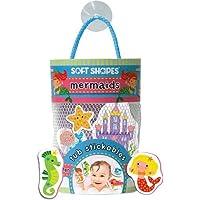 Innovative Kids Soft Shapes Illustrated Tub Stickables Mermaids Playset [並行輸入品]