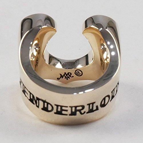 TENDERLOIN テンダーロイン T-H.S RING GOLD/STONE ホースシューダイヤリング 金 10号