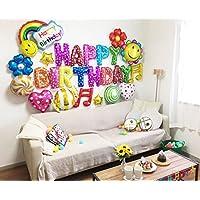誕生日 バルーン 豪華26ピース 飾り付け セット