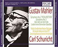 Mahler Symphonies 2 'Resurrection' (W.Hanni Mack-Cosack Soprano And Hertha Topper Alto) & 3 by VARIOUS ARTISTS
