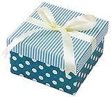 丸和貿易 ギフトボックス シリンコリー スクエアー S ブルー 4007143-02