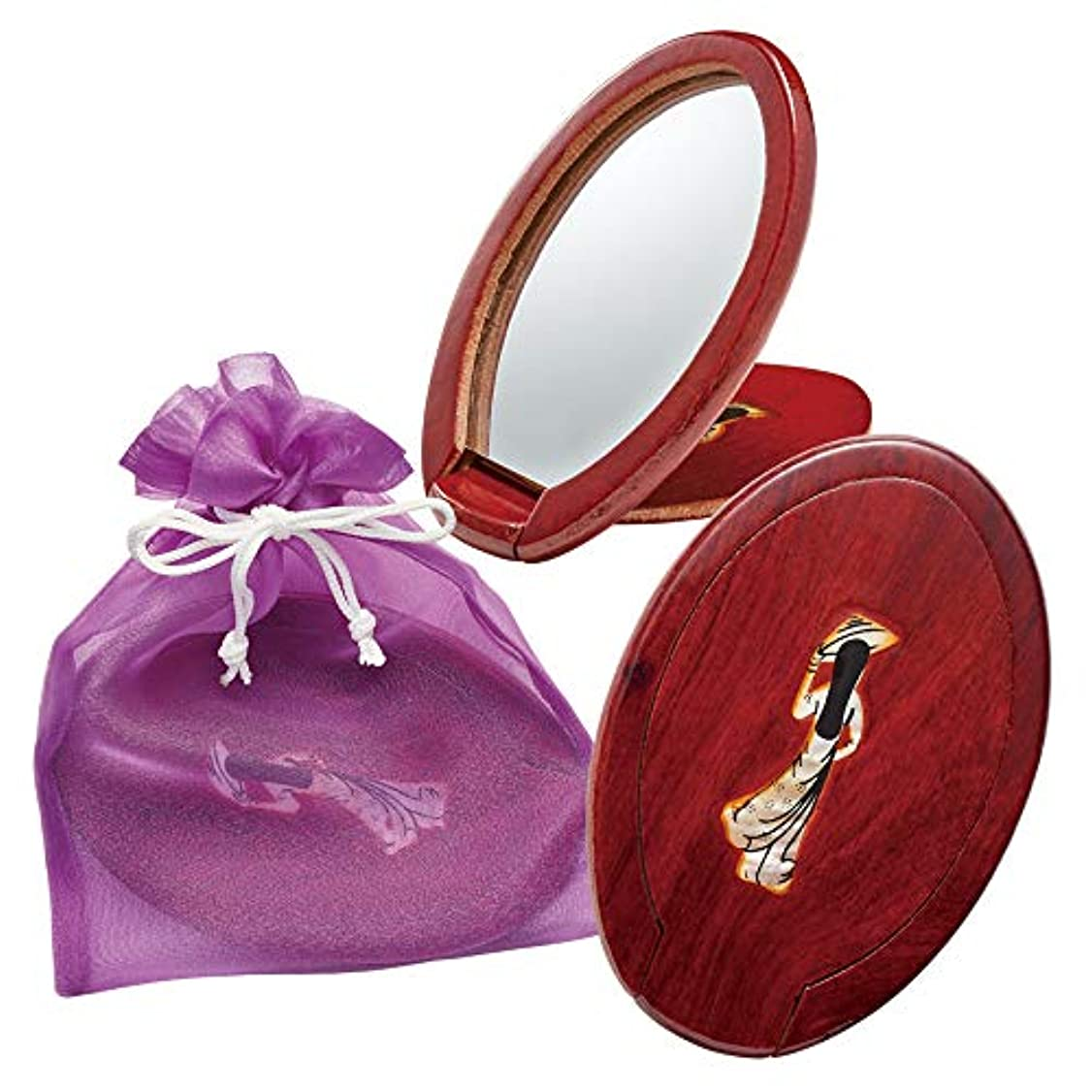 不定ドレス手錠ベトナムお土産 ベトナム手鏡 巾着入り 3個セット