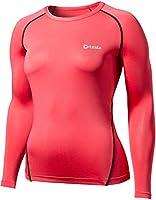 (テスラ)TESLA レディース スポーツシャツ [UVカット・吸汗速乾] コンプレッションウェア オールシーズン スポーツ アンダーウェア WR11