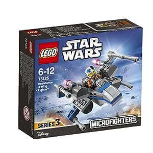 """レゴ (LEGO) スター・ウォーズ マイクロファイター""""反乱軍Xウィング・ファイター"""" 75125"""