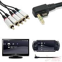 コンポーネントAVオーディオビデオTVリードコードケーブルfor Sony PSPスリム20003000to HDT