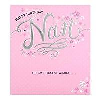 特徴的なナン誕生日カード「願いの甘いもの」 - 小