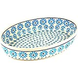 Zaklady Ceramiczne Boleslawiec/ザクワディ ボレスワヴィエツ陶器 グラタン皿(オーバル)-966-ポーリッシュポタリー