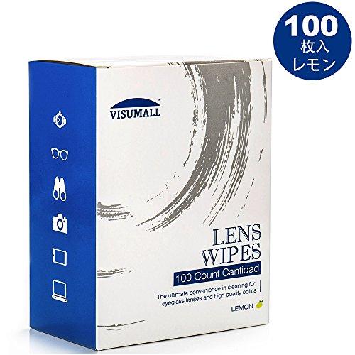 VISUMALL レンズクリーニングワイプ Cleansの汚れ カメラレンズ 眼鏡 時計 ガラス ス...