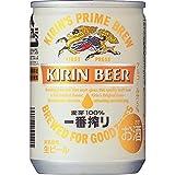 キリン一番搾り生ビール 6缶パック 135ml×6本 135ml