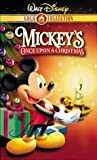 Mickey's Once Upon a Christmas [VHS] [Import]