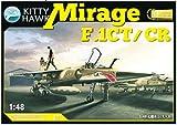 キティホークモデル 1/48 ミラージュF.1 CT/CR プラモデル