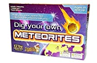 Dig Your Own Meteorites! Easy to Dig Includes 3 Meteorites, 3 Tektites, and 2 Pseudos. Easy to Dig! by Gem Center U.S.A. [並行輸入品]