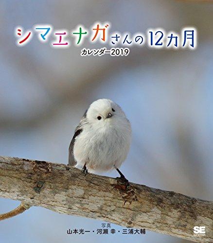 [画像:シマエナガさんの12ヵ月 カレンダー 2019]
