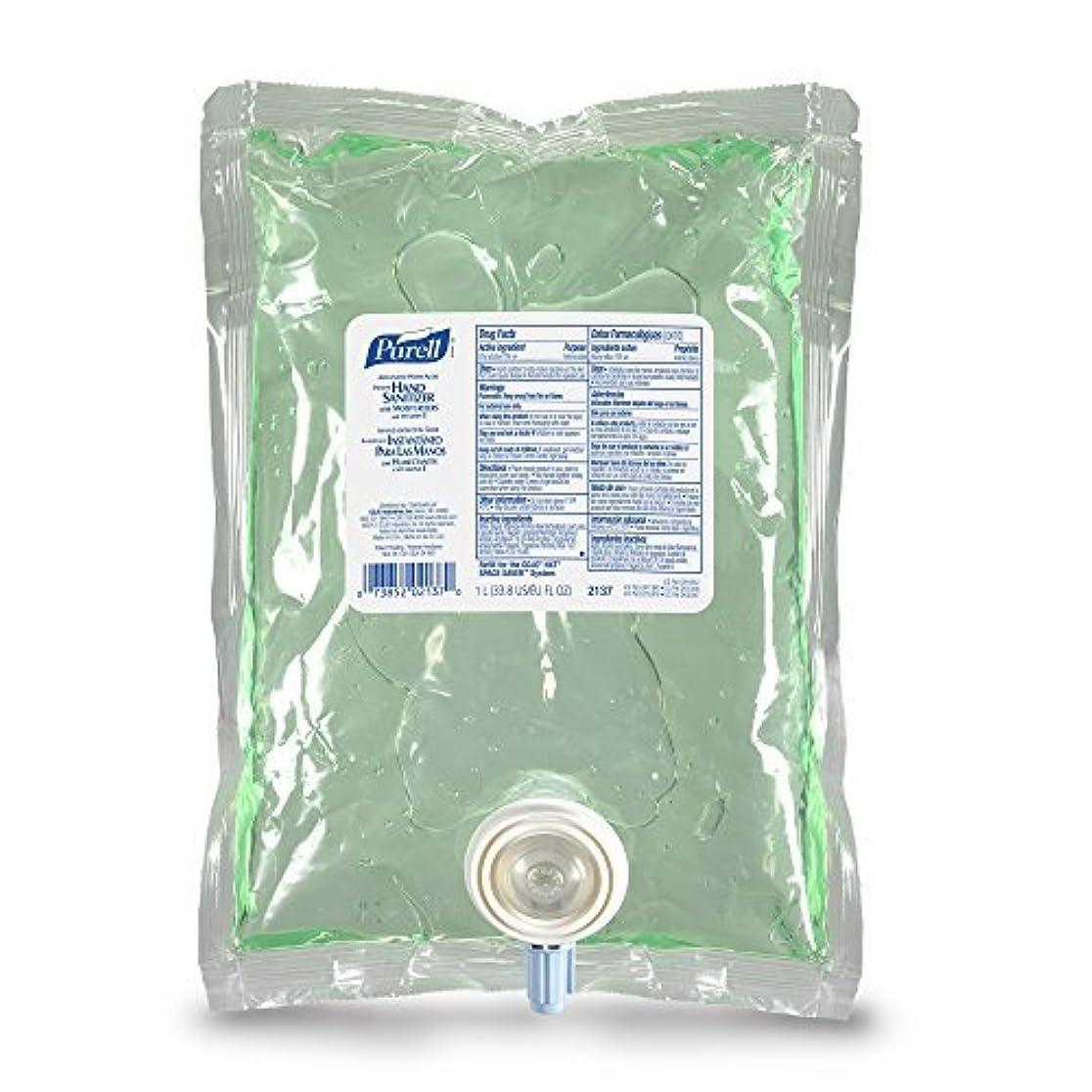 格納鉱夫十代PURELL 213708CT Advanced NXT Instant Hand Sanitizer NXT Refill w/Aloe 1000mL Refill (Case of 8) [並行輸入品]
