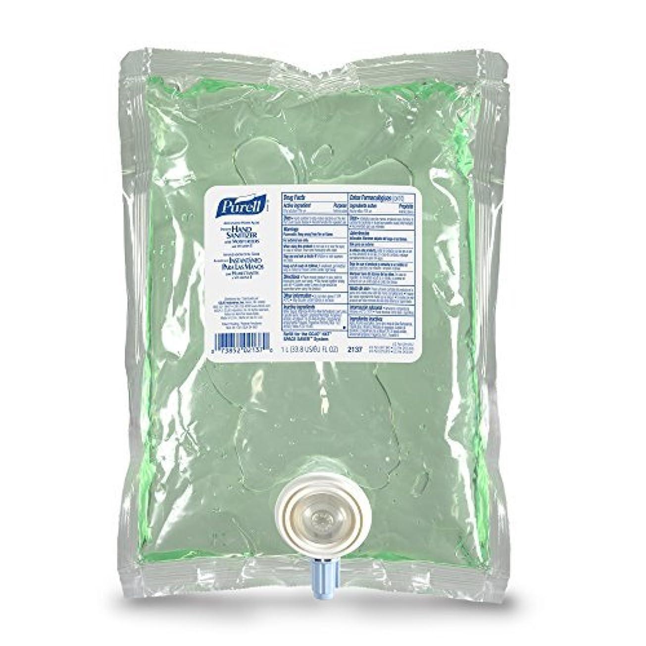 等価ブローオーブンPURELL 213708CT Advanced NXT Instant Hand Sanitizer NXT Refill w/Aloe 1000mL Refill (Case of 8) [並行輸入品]