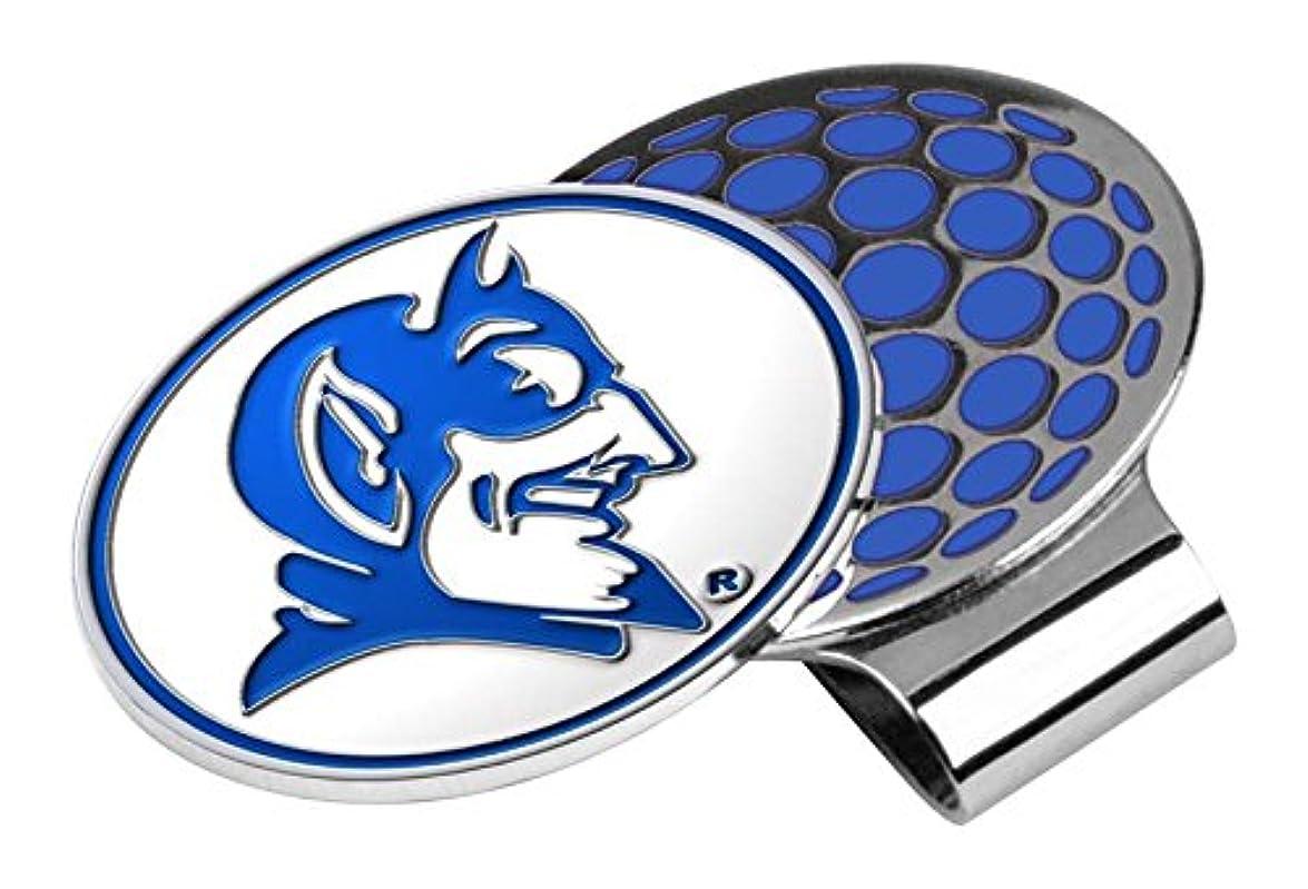 実行カウントアップ測定NCAA Duke Blue Devils - Golf Hat Clip with Ball Marker