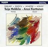 Works by Debussy, Enescu, Janácek and Kodály