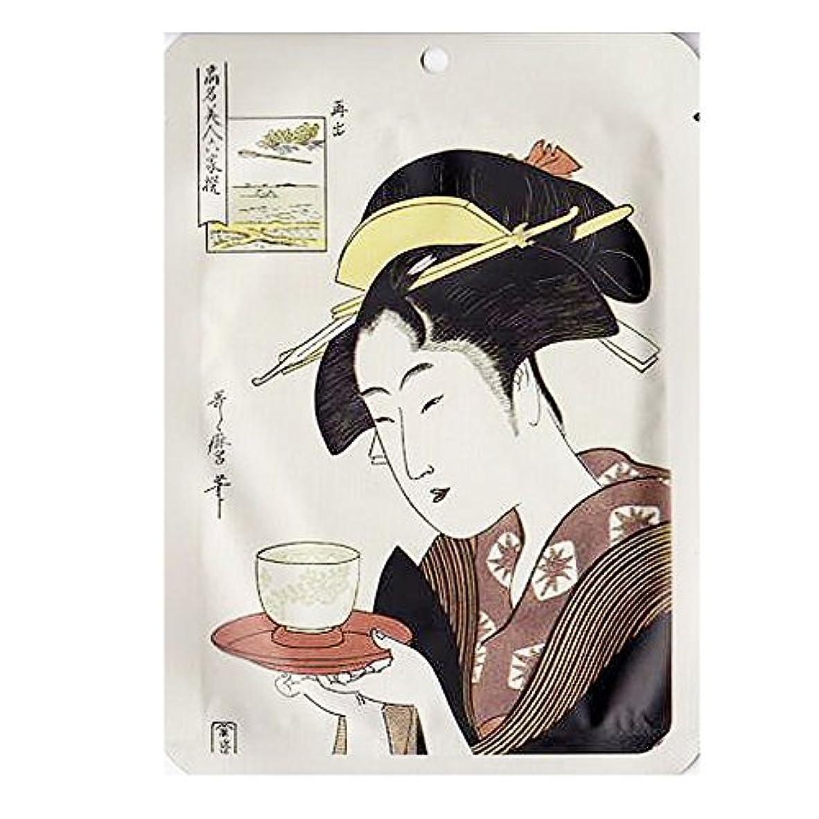 浮世絵シリーズ 歌麿ライン 難波屋おきた コエンザイムQ10+江戸紫エッセンスマスク 25g