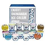 沖縄のアイスクリーム「ブルーシール詰合せギフト18」