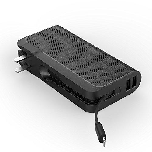Luxtude モバイルバッテリー 9000mAh AC充電器...