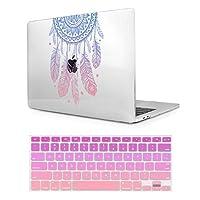 2つL印刷プラスチックハードケースカバーfor MacBook Air 11インチ( a1370and a1465) 15.4 Inches マルチカラー Air11-M359