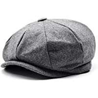 Eternal Leaf キャスケット ハンチング 帽子 つば付き ベレー 帽 FT6608