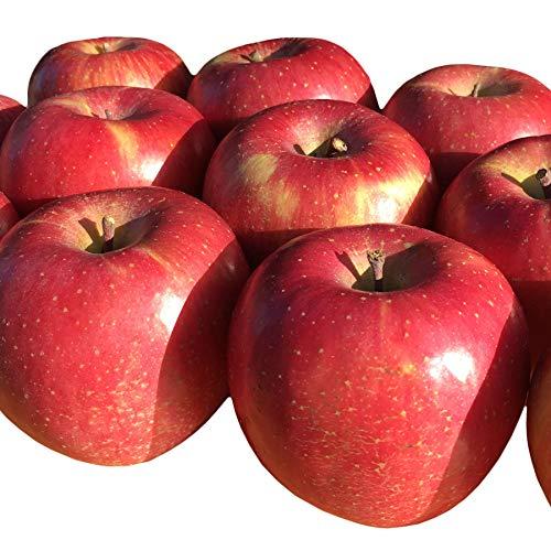 Su-eat 葉とらず 味極み りんご 減農薬 長野県産 (訳あり スマート サンふじ 3キロ)