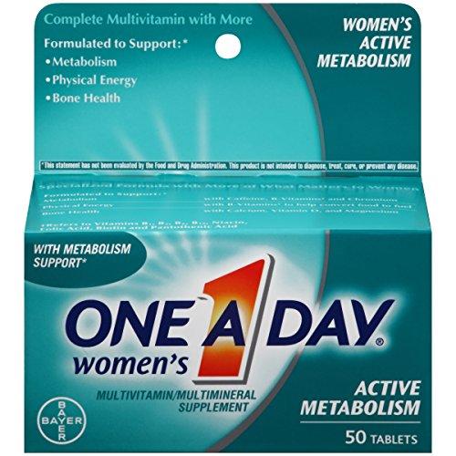 海外直送品One-A-Day Womens Active Metabolism, 50 tabs by One-A-Day One-A-Day