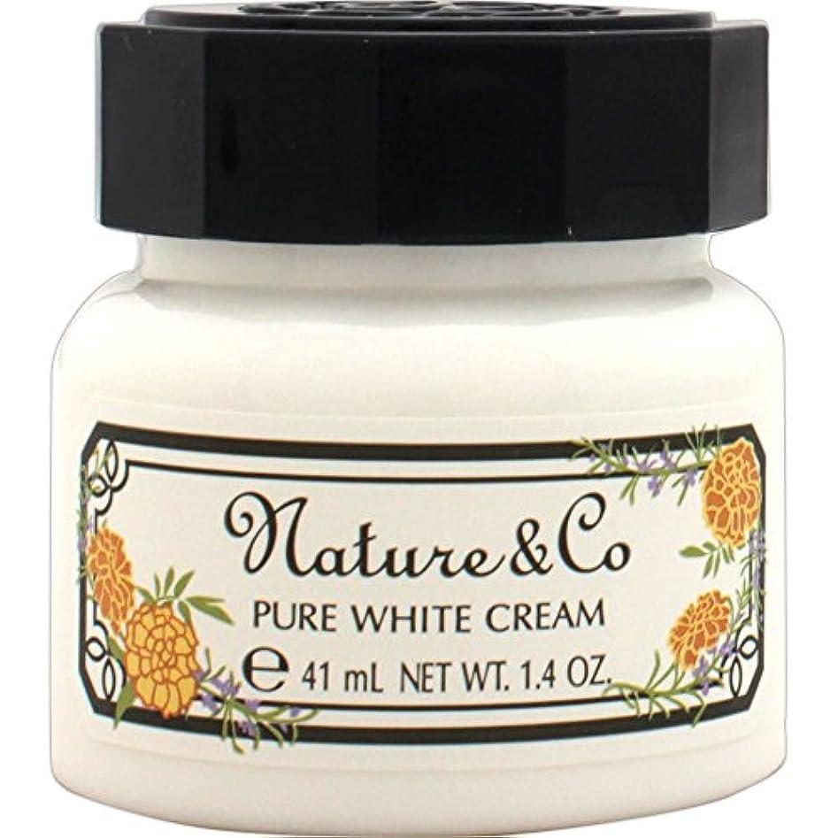 注目すべき遺伝子食料品店ネイチャー アンド コー ピュアホワイト クリーム 40g