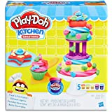 Play Doh - Kitchen Creations - Frost 'n Fun Cakes inc Cake Tools & 5 Tubs