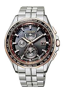 [シチズン] 腕時計 アテッサ エコ・ドライブ 電波時計 AT9095-68E メンズ シルバー