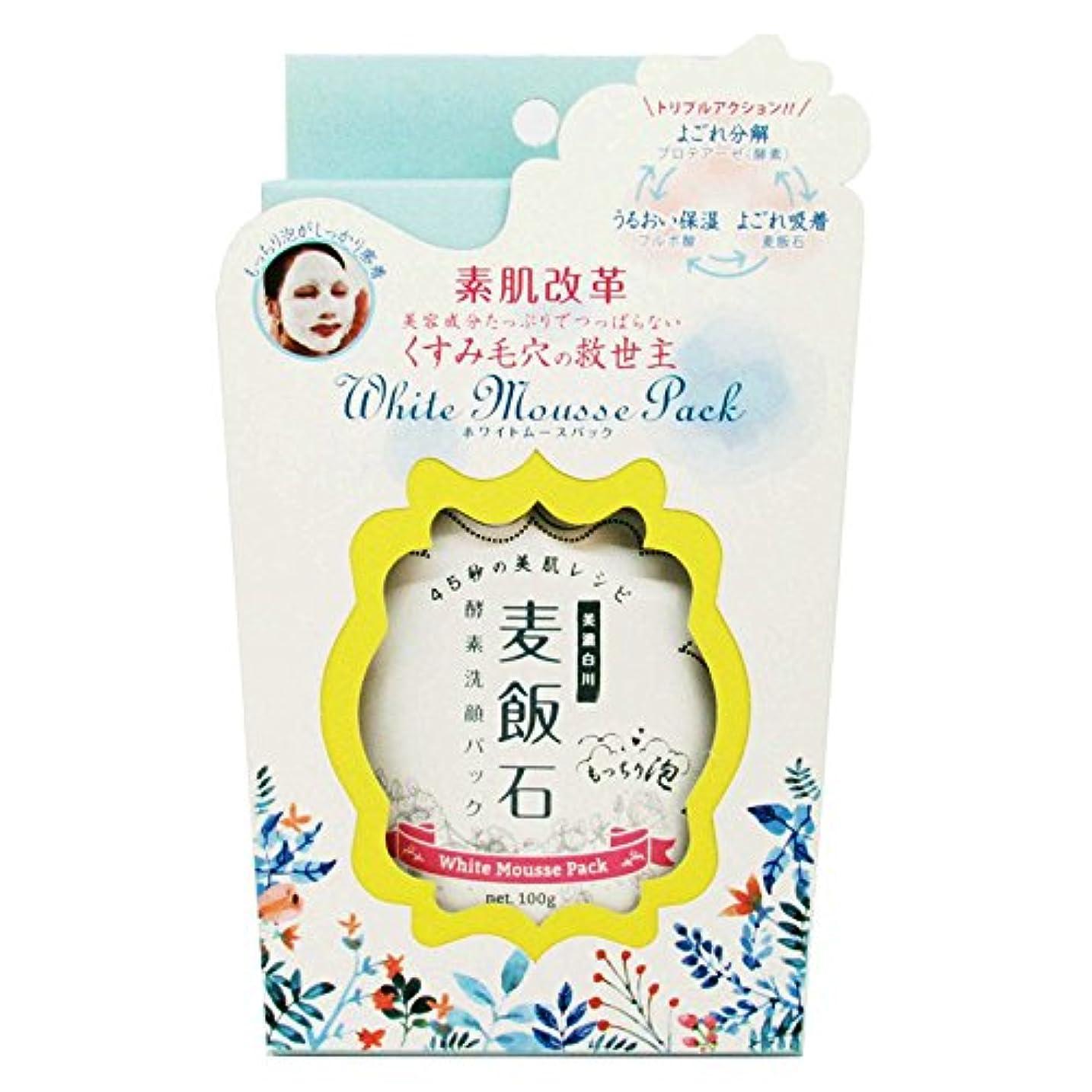 硬い学士伝統的ホワイトムースパック (100g)