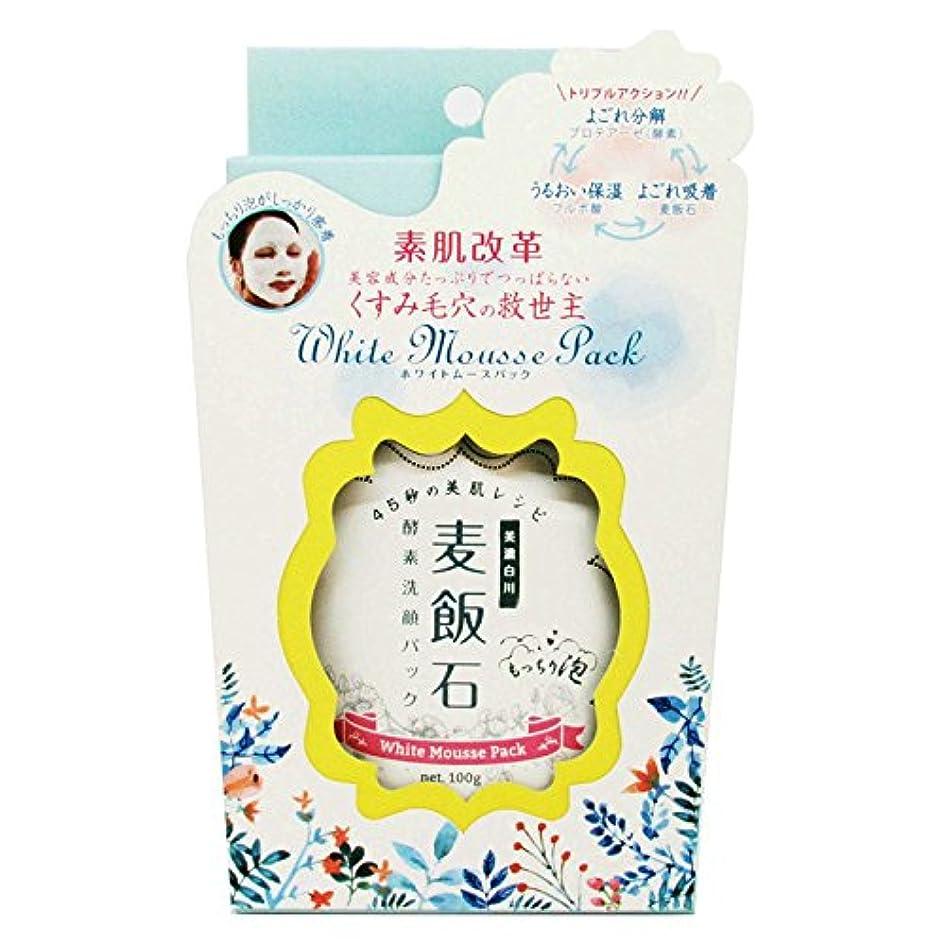 ドキドキ必需品なだめるホワイトムースパック (100g)