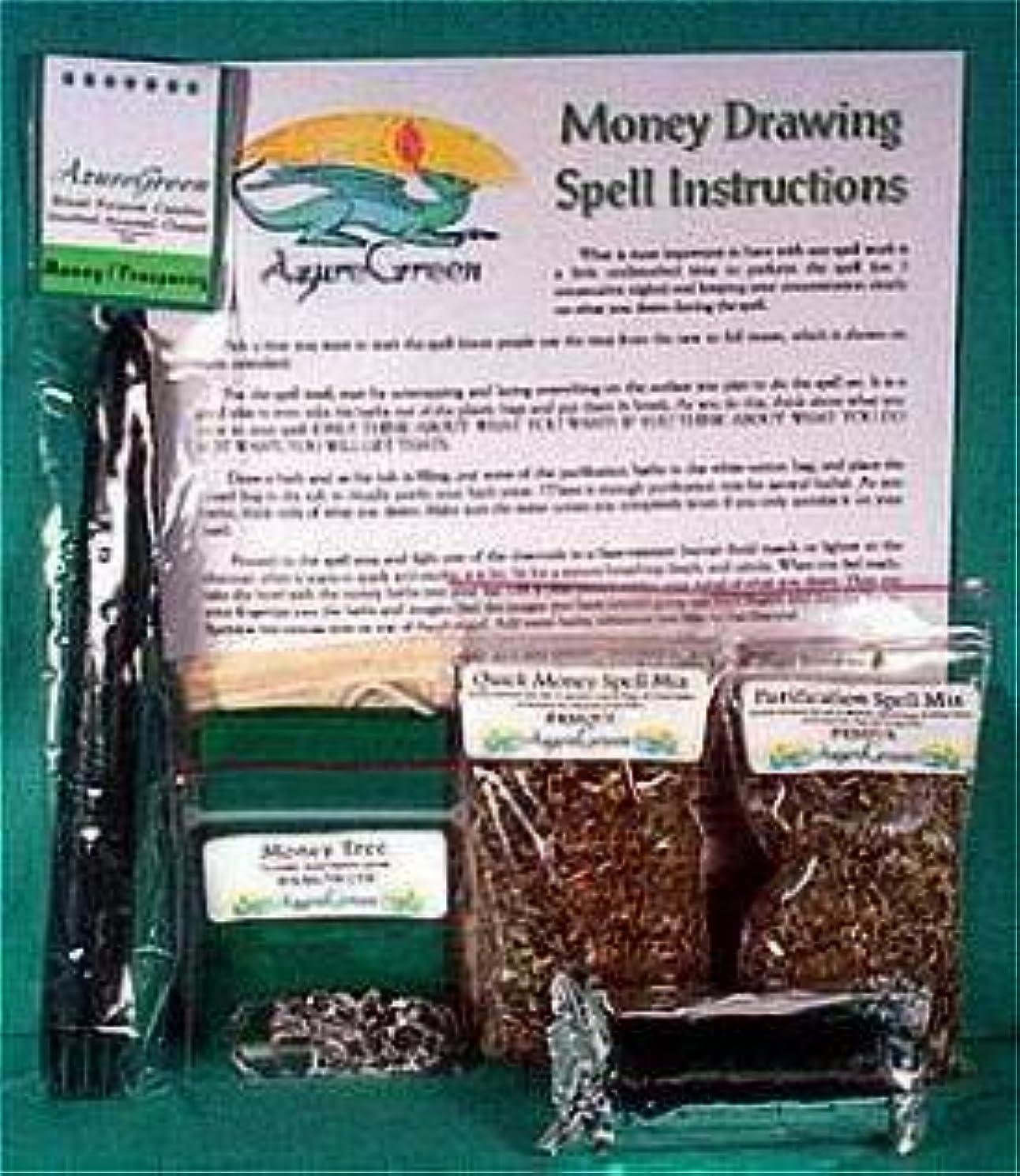 橋脚人種明日Money Drawing Ritualキット*