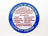 US検査ステッカー ブルーUSB-005