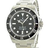 [ロレックス] ROLEX シードゥエラー4000 腕時計 ウォッチ シルバーxブラック ステンレススチール(SS) 116600 [中古]
