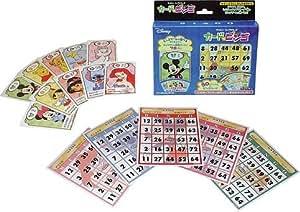 ディズニーキャラクターズ カードでビンゴ