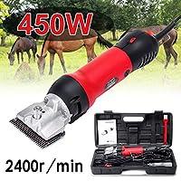 私は電動馬のバリカン、家畜は110-240V 450W 2400R /分6馬、牛、ラクダのための調節可能な速度をはさみます