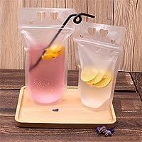 (ハッピー・ライフ)Happylife 飲料バッグ 酒袋 ジュース 食品ストレージ 飲料水袋 100枚