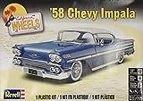アメリカレベル 1/25 シェビーインパラ 1958年 プラモデル 4419