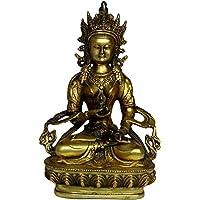 仏像 置物 金剛薩ました 黄銅 工芸品 風水 開運 縁起物 飾り物INB031